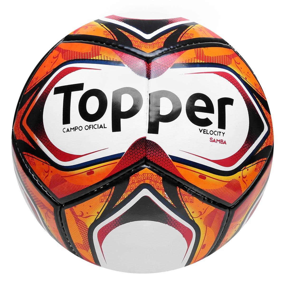 Bola de futebol do Campeonato Carioca Topper Pro Samba