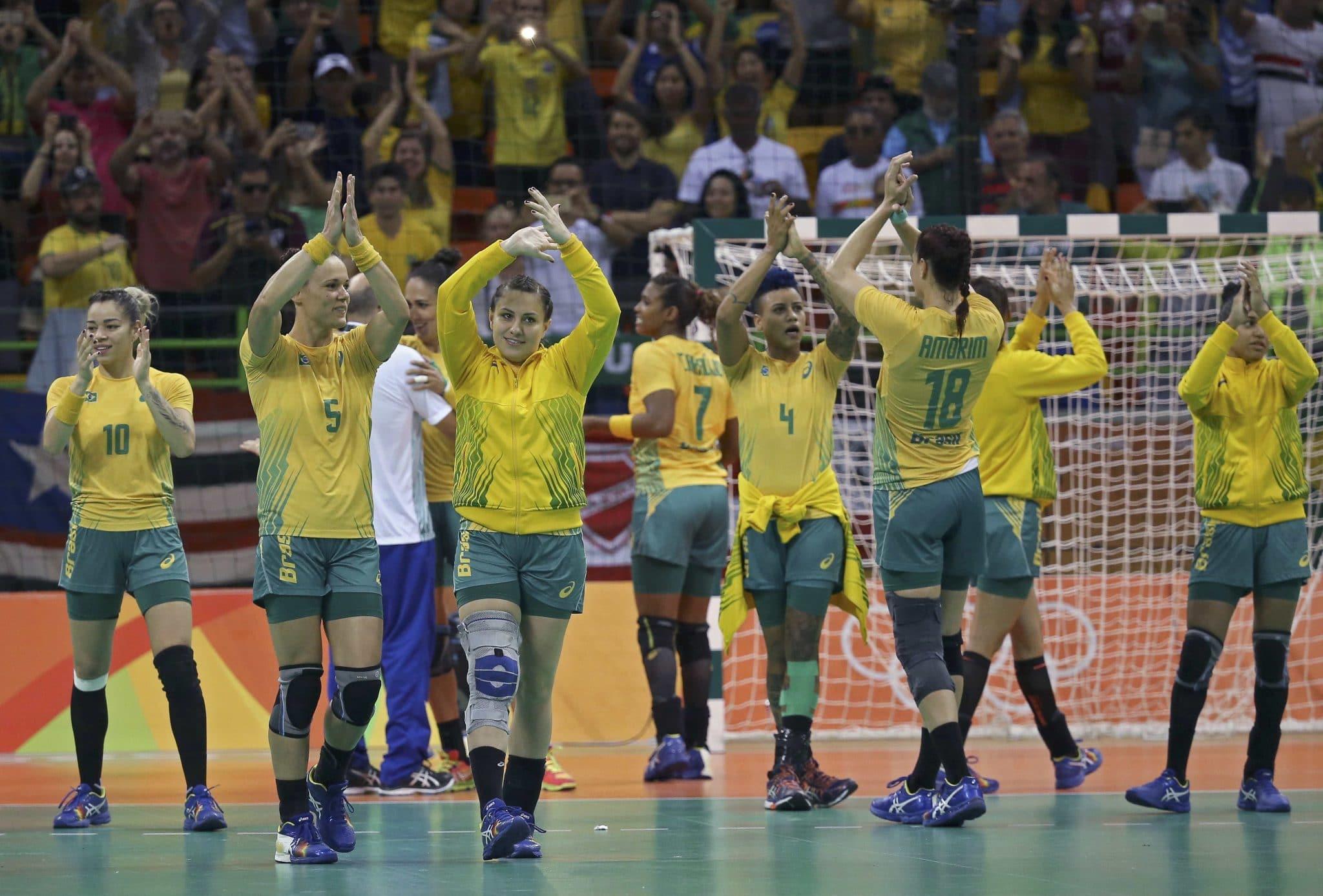 Seleção Brasileira de Handebol Feminino na Olimpíada do Rio de 2016