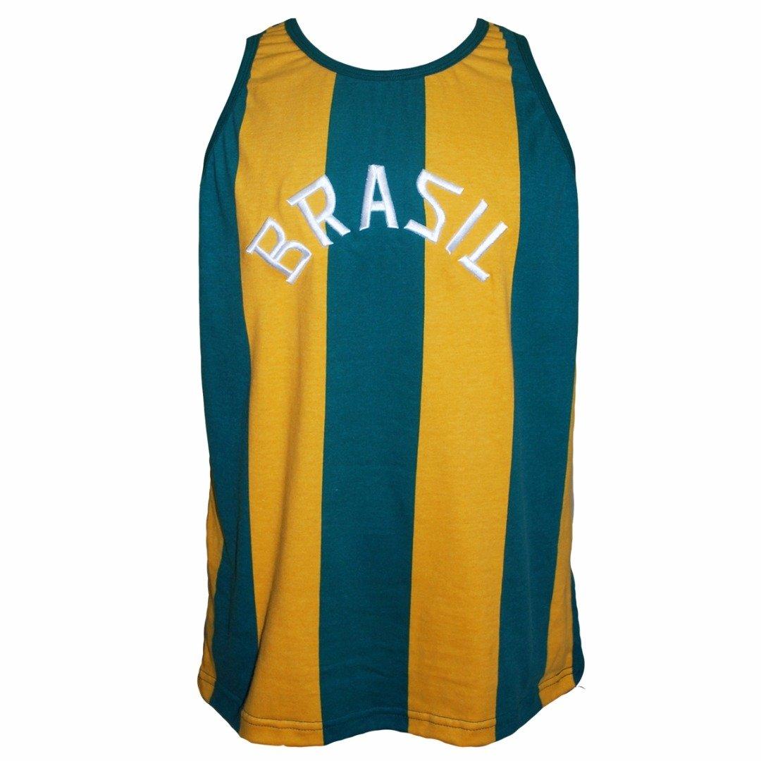 Camisa Retrô da Seleção Brasileira de Basquete