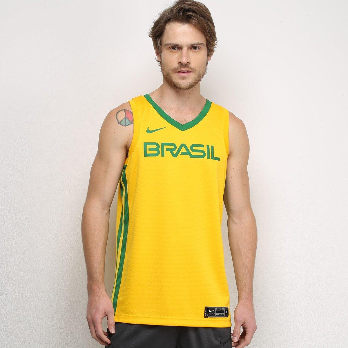 Camisa da Seleção Brasileira de Basquete