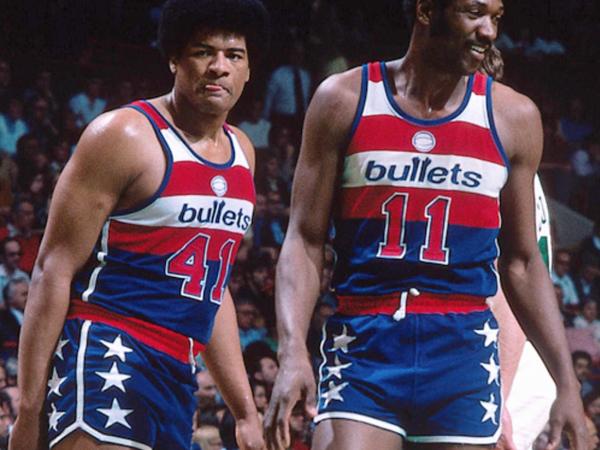 Camisa do Washington Bullets