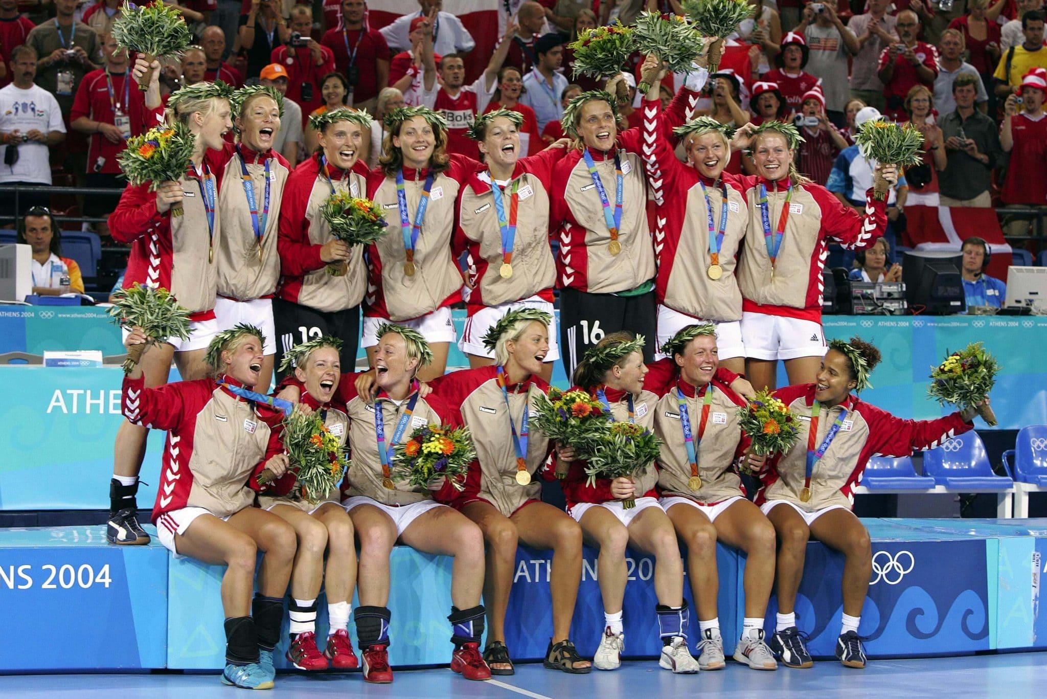 Dinamarca campeão olímpica de handebol