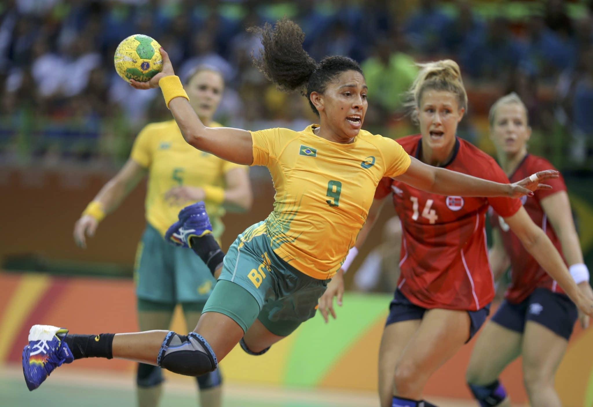 Equipamentos de Handebol Ana Paula Seleção Brasileira Feminina