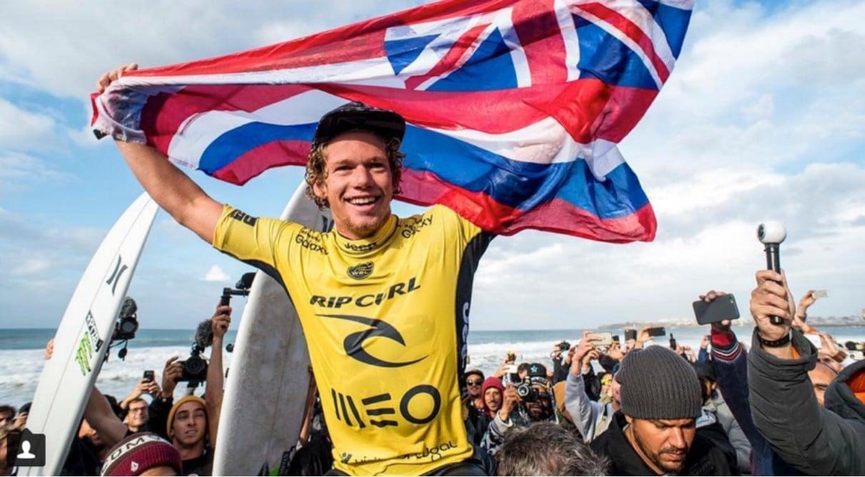 John John Florence bicampeão mundial de surf