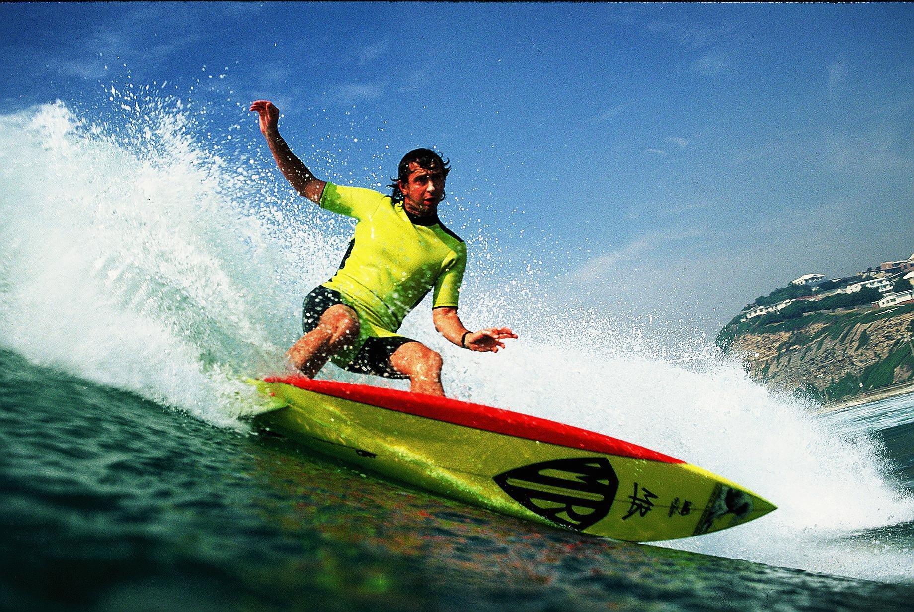 Mark Richards tetracampeão mundial de surf