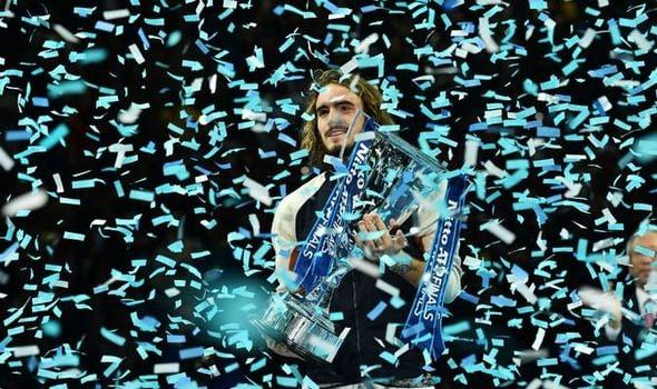 Stefanos Tsitsipas campeão do ATP Finals 2019