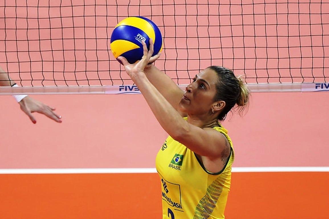 Dani Lins levantadora seleção brasileira
