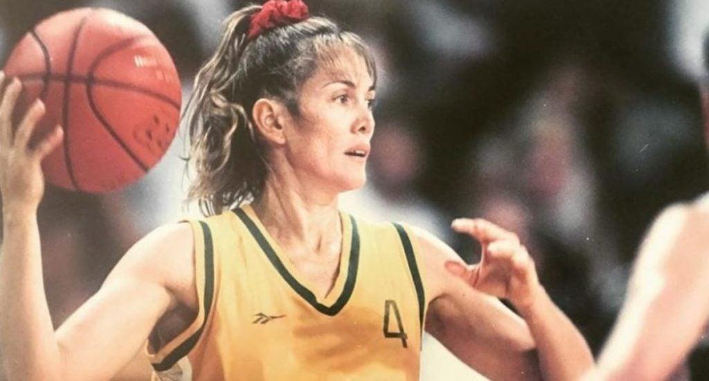 Hortência na seleção brasileira de basquete feminino