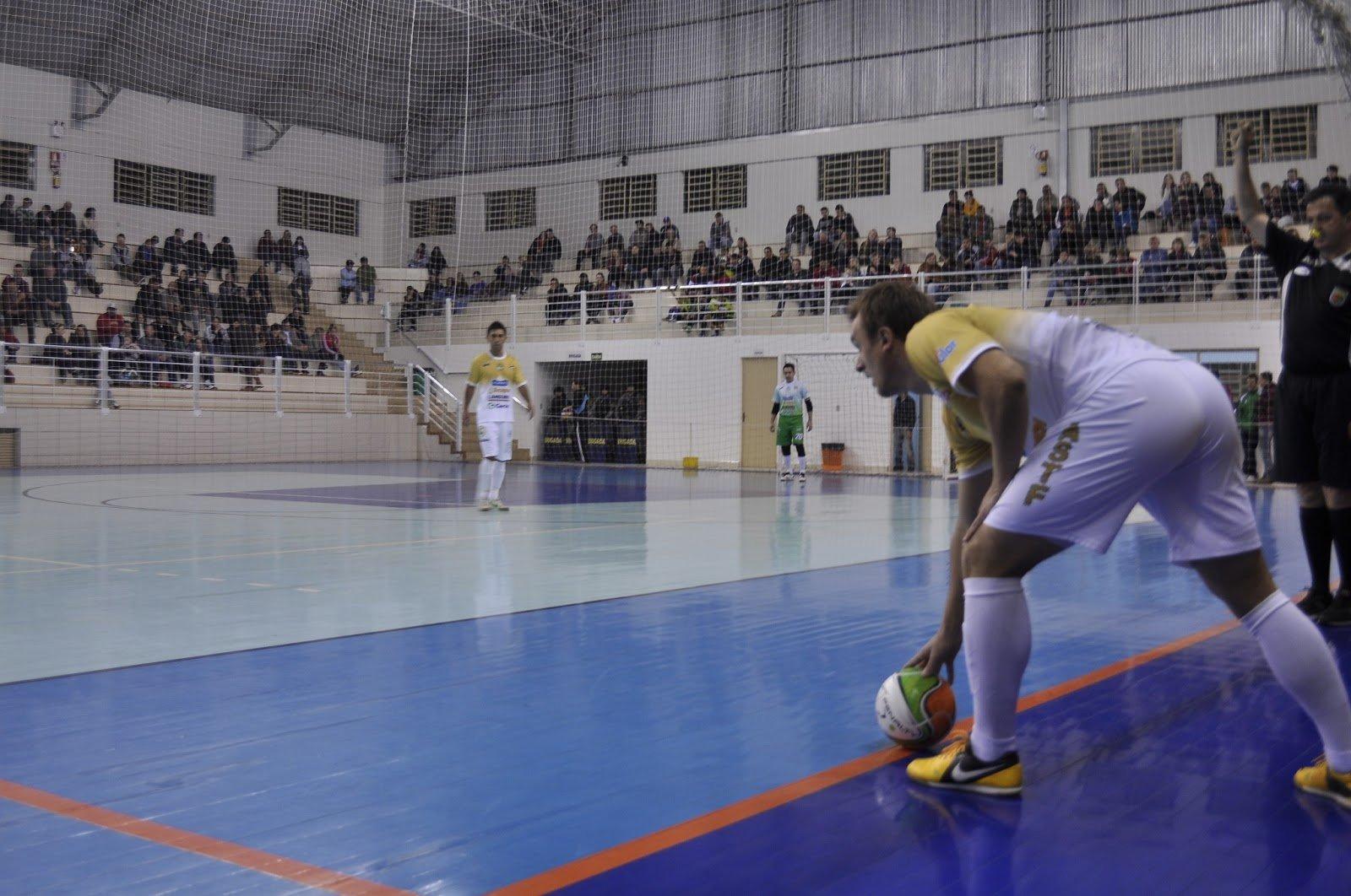 Lateral no futsal