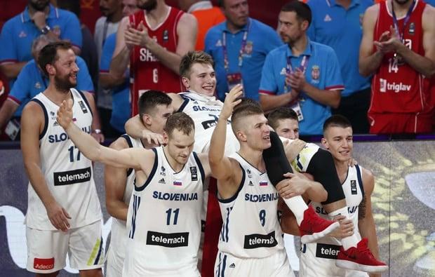 Luka Doncic campeão da EuroBasket pela Eslovênia