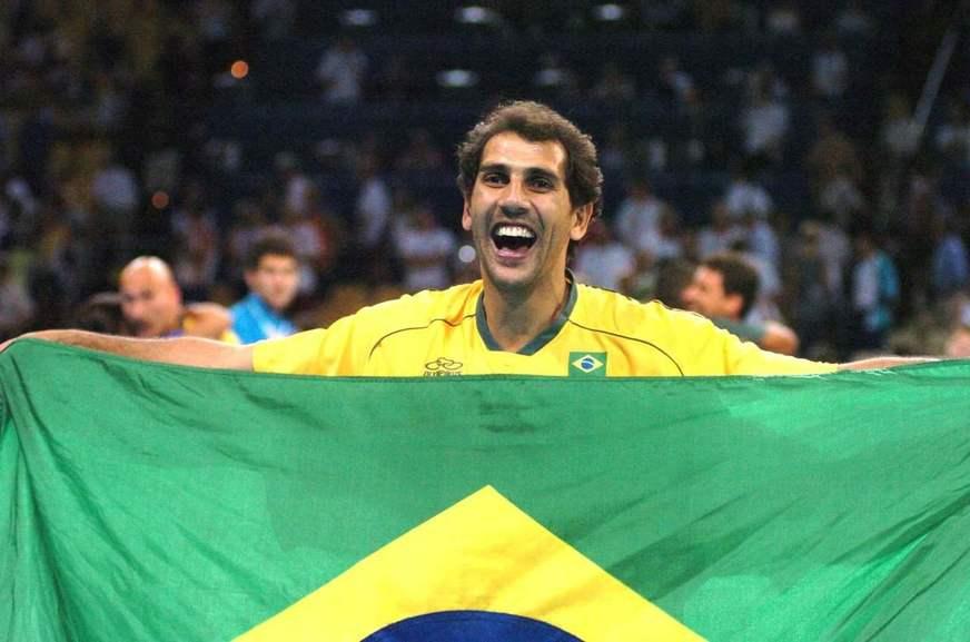 Maurício levantador da seleção brasileira