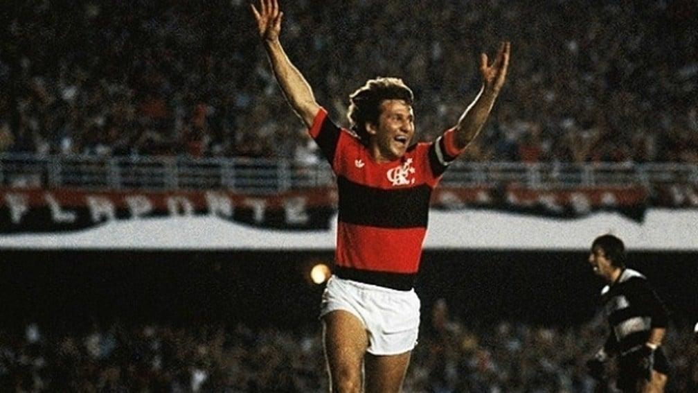 Zico maior jogador da história do Flamengo