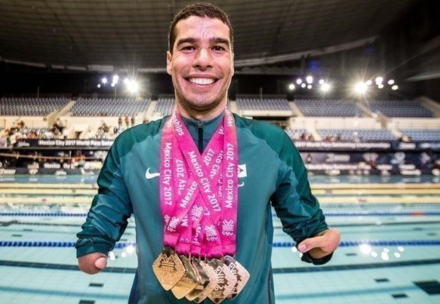 Como Daniel Dias começou na natação