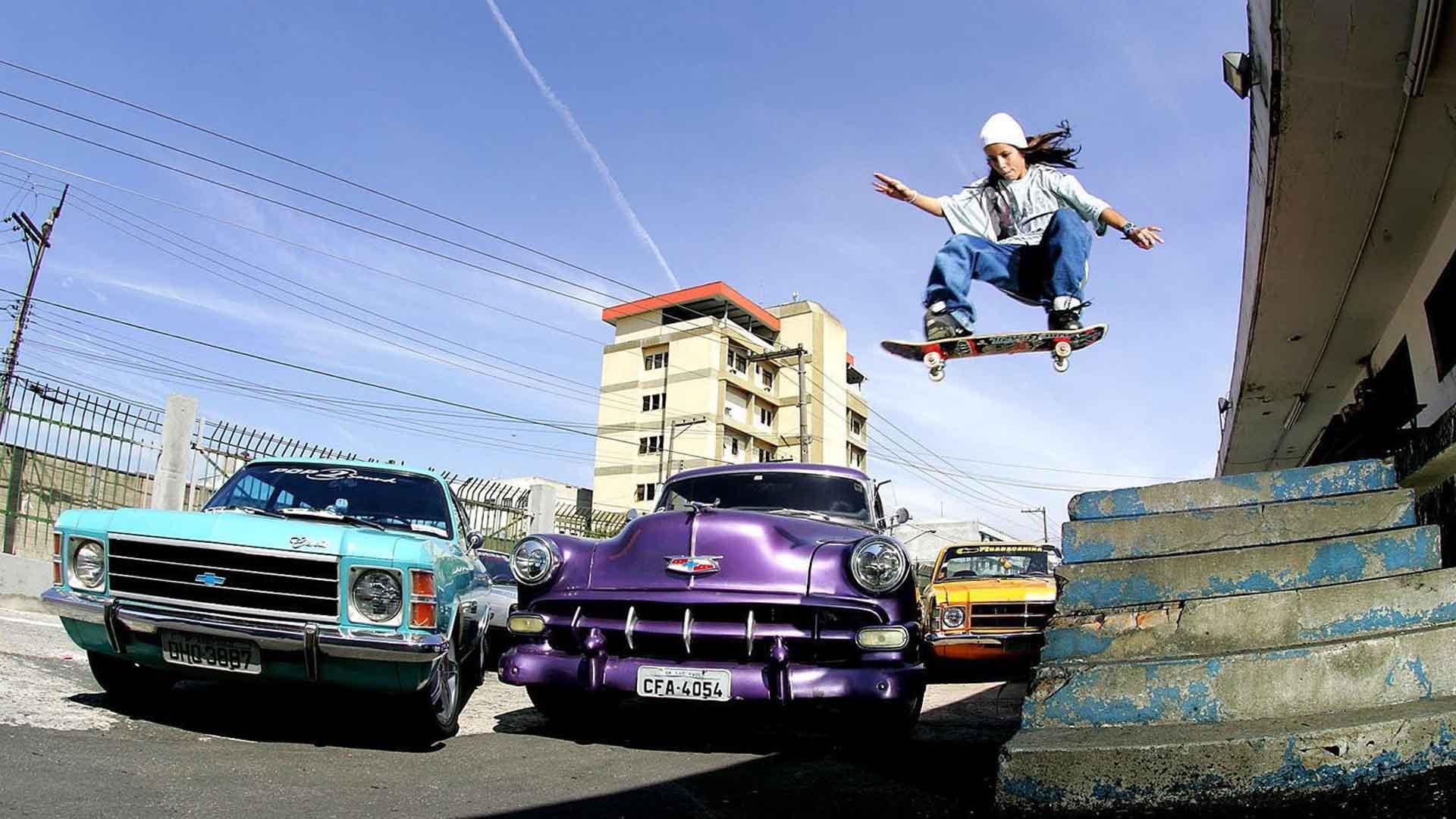 Quando Letícia Bufoni começou a andar de skate