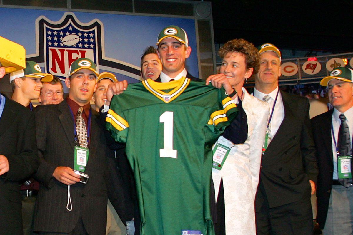 Aaron Rodgers no draft da NFL