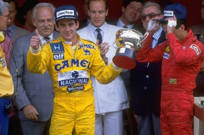 Ayrton Senna maior vencedor do GP de Mônaco