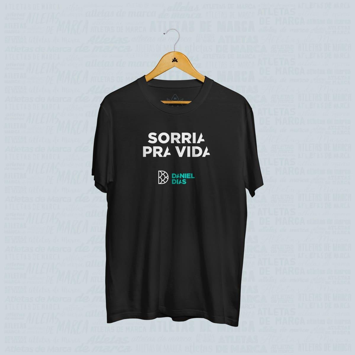 Camisa Sorria pra Vida