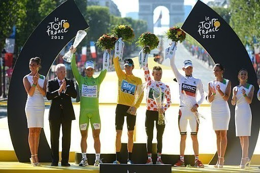 Camisas da Volta da França ou Tour de France