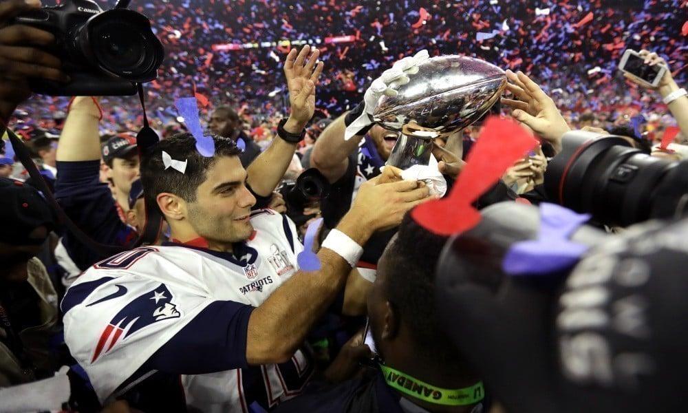 Jimmy Garoppolo campeão do Super Bowl