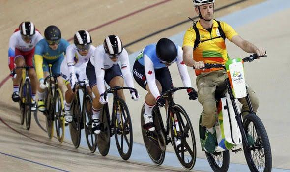 Keirin no ciclismo de pista