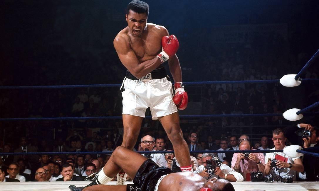 Muhammad Ali é o maior lutador de boxe de todos os tempos
