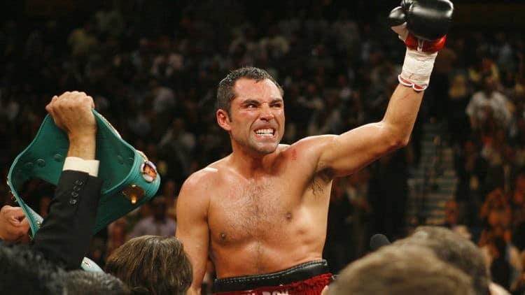 Oscar de la Hoya boxeador
