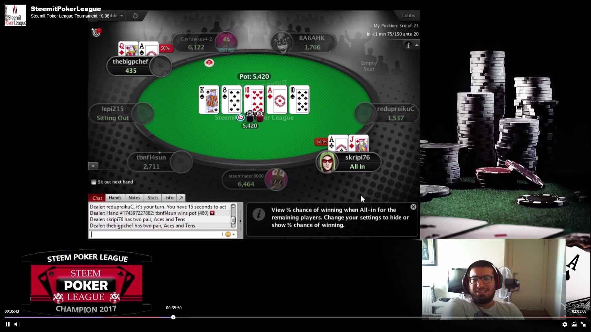 streams poker twitch