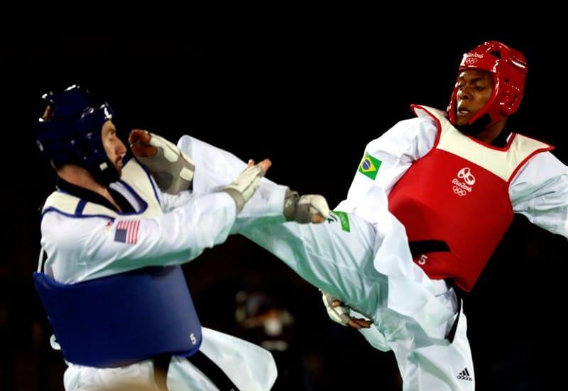 Chutes do Taekwondo