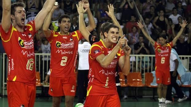 Cimed/Florianópolis é primeiro campeão da história da Copa Brasil de Vôlei Masculino