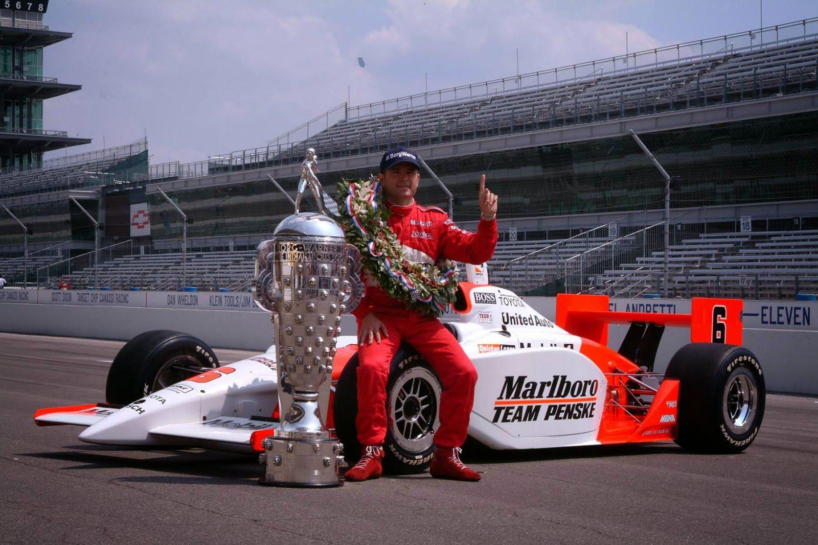 Gil de Ferran vencedor das 500 Milhas de Indianápolis em 2003