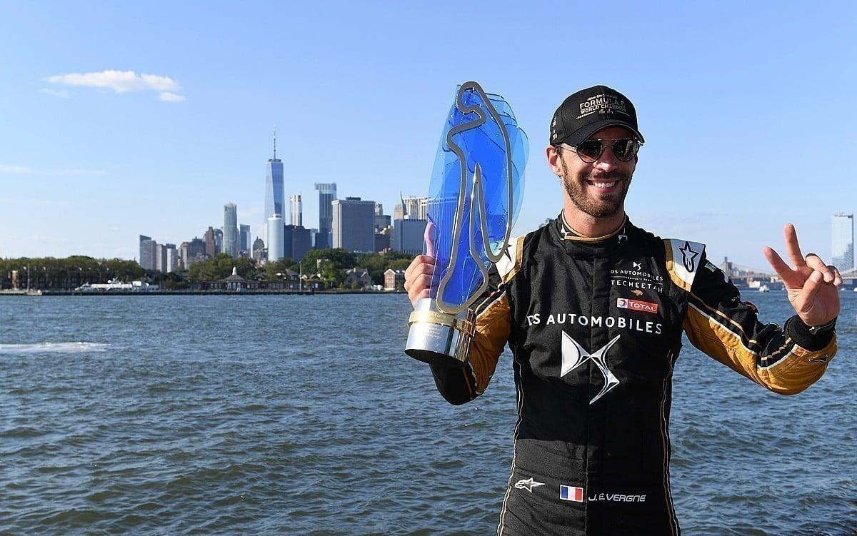 Jean-Éric Vergne é o maior vencedor da história da Fórmula E