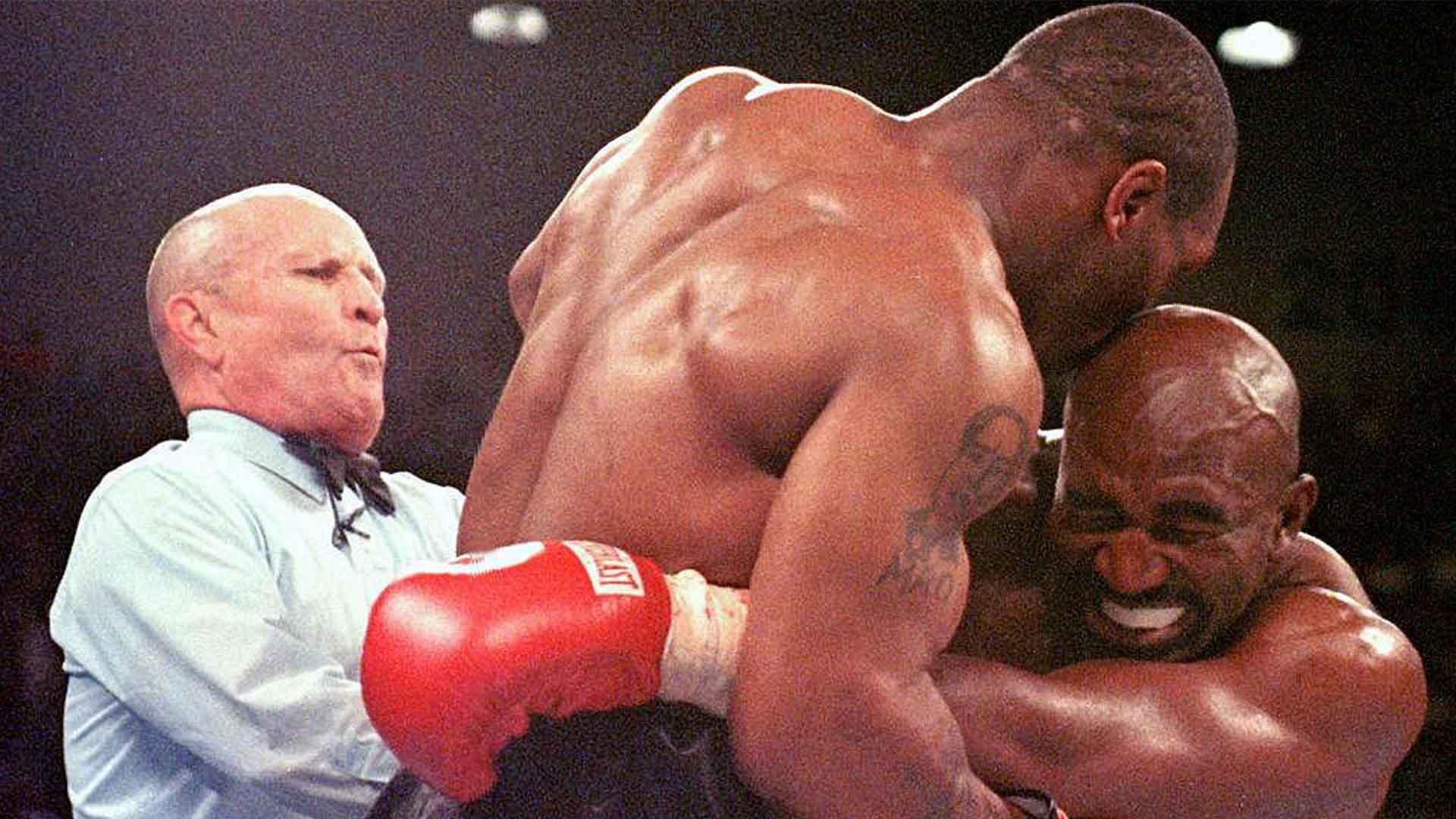melhores lutas de boxe Evander Holyfield x Mike Tyson