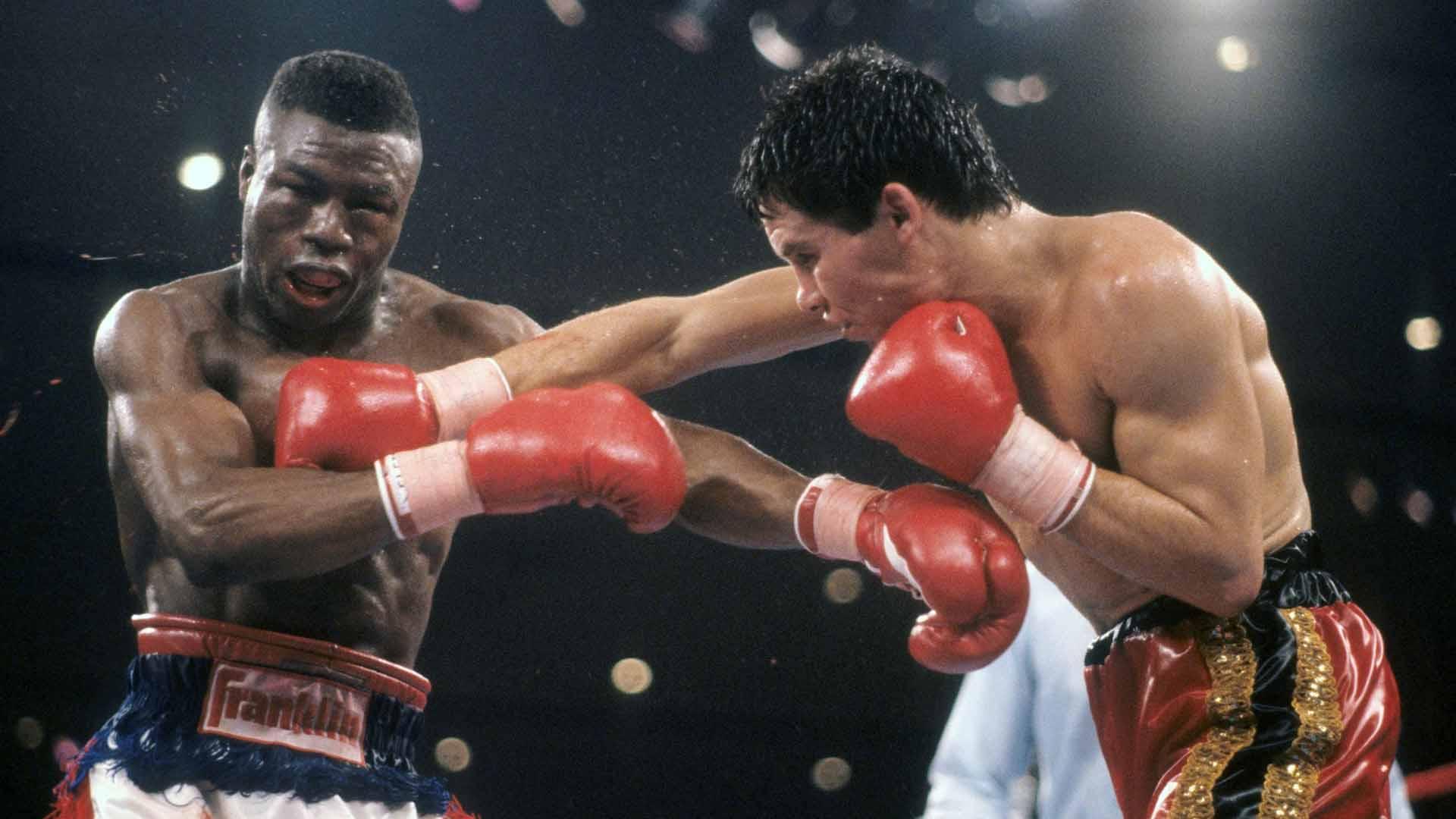 melhores lutas de boxe Julio César Chávez x Meldrick Taylor