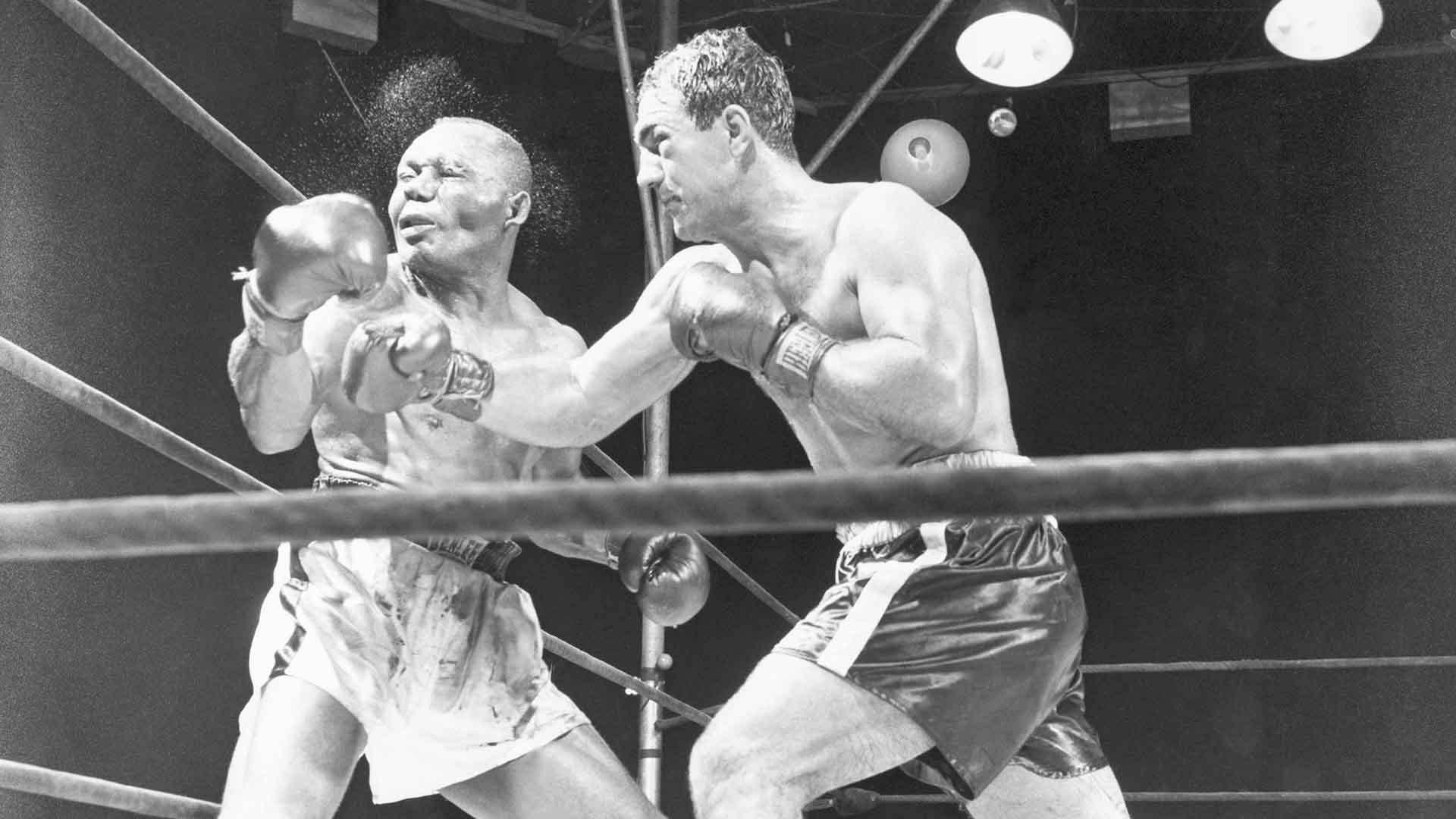 melhores lutas de boxe Rocky Marciano x Jersey Joe Walcott