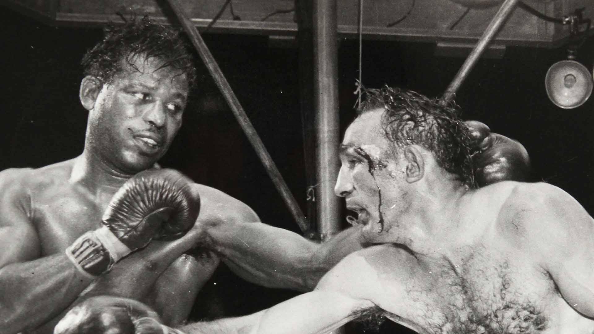 melhores lutas de boxe Sugar Ray Robinson x Carmen Basilio
