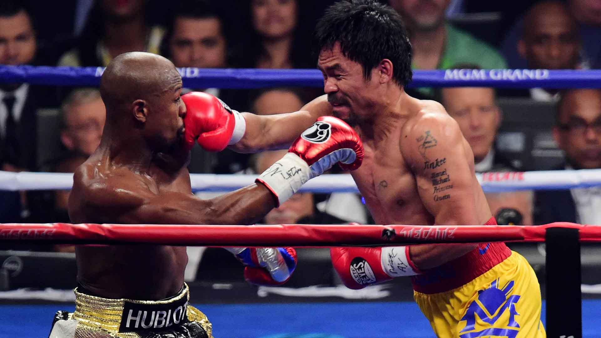 melhores lutas de todos os tempos Floyd Mayweatherx Manny Pacquiao