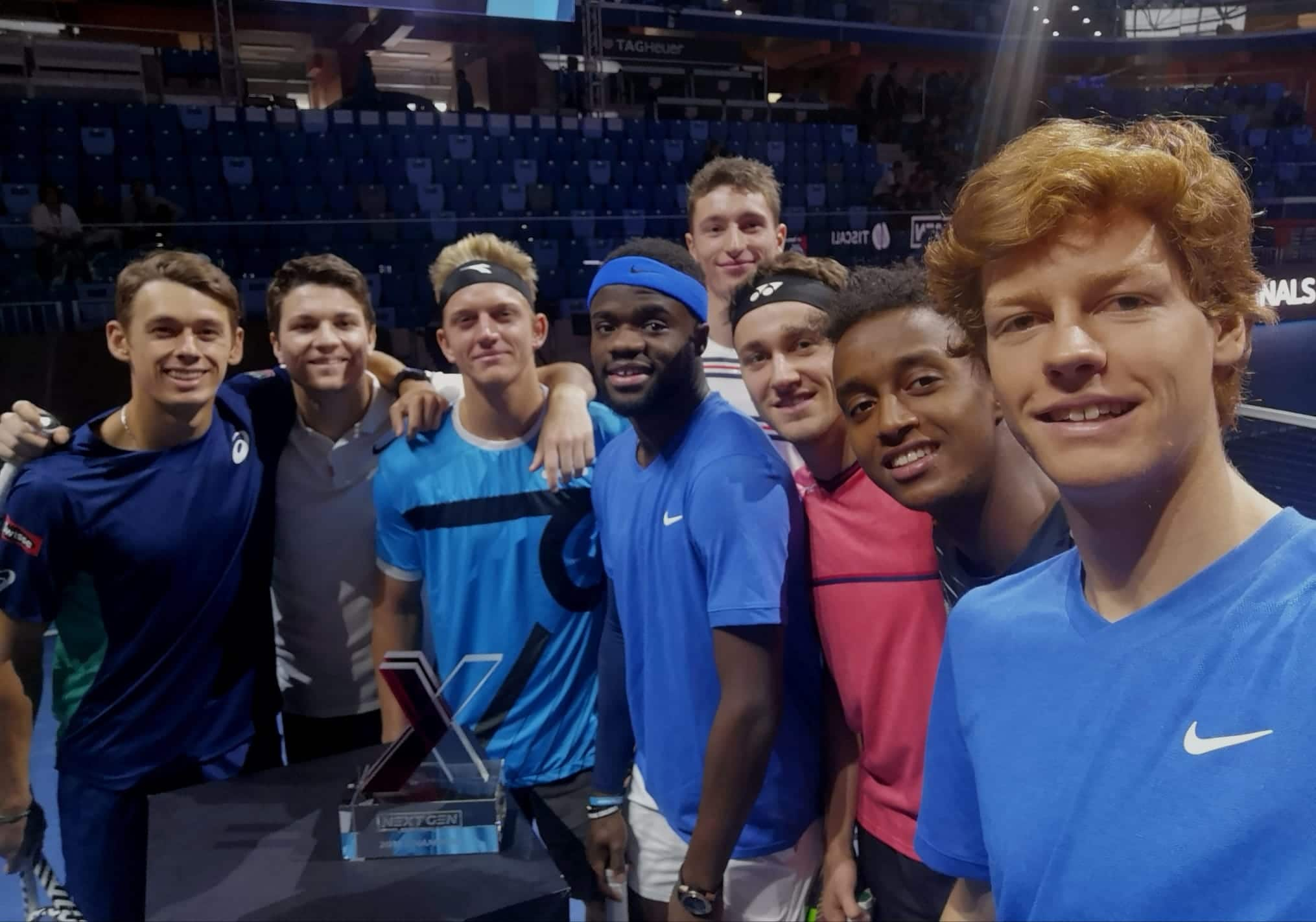 Participantes do Next Gen ATP Finals em 2019