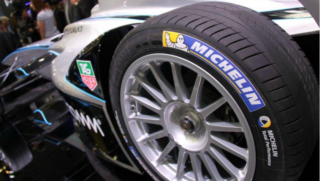 Pneus da Fórmula E