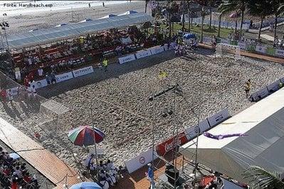 Quadra de Handebol de Areia