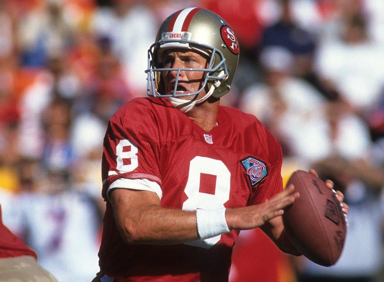 Steve Young melhores quarterbacks da história