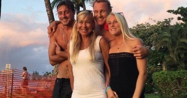 Família de Tatiana Weston-Webb