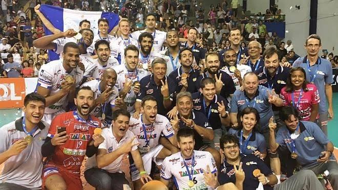 Taubaté tem dois títulos da Copa Brasil de Vôlei Masculino