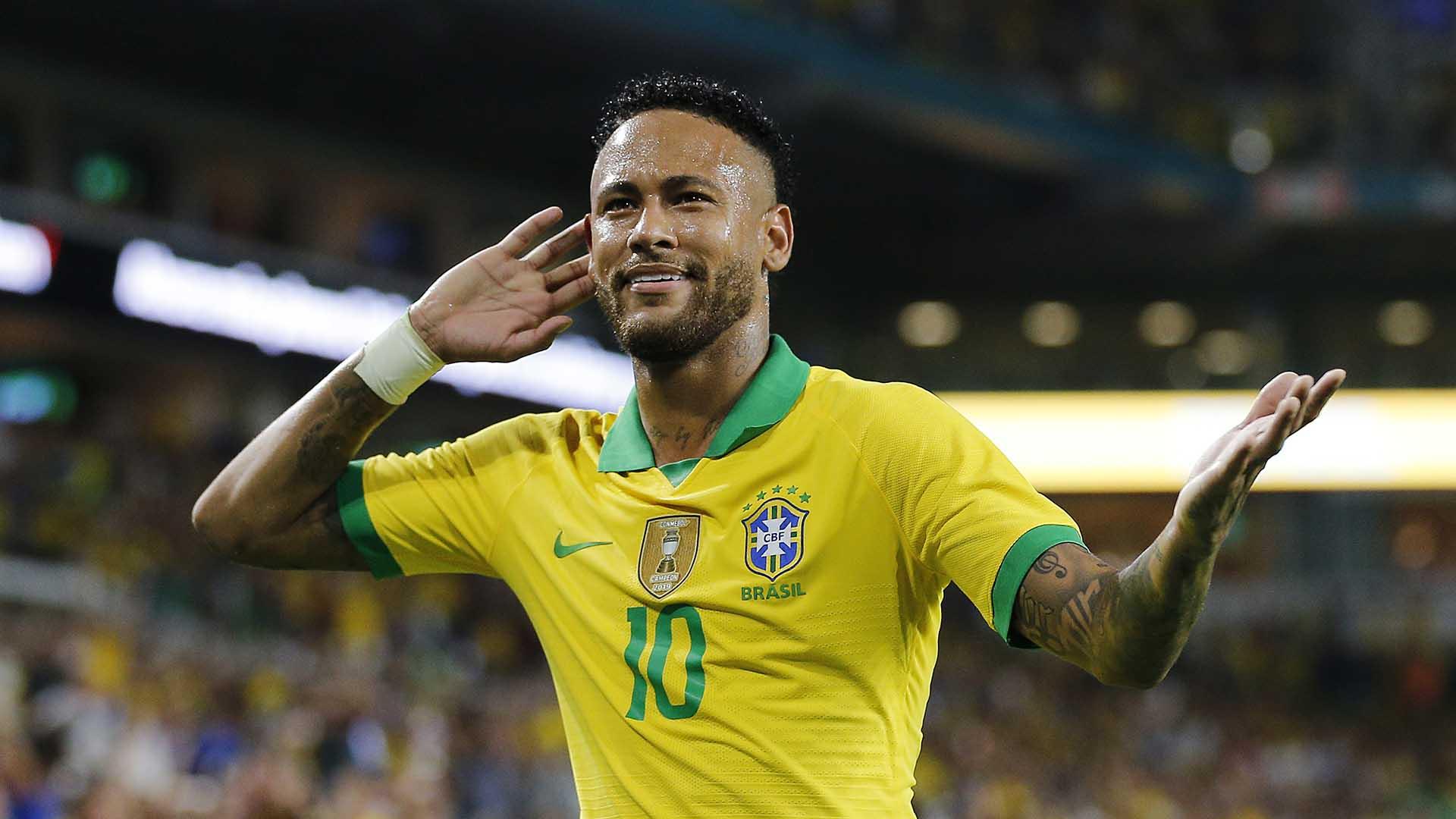 titulos neymar seleção brasileira