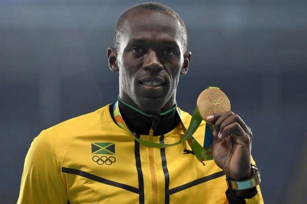 Medalhas olímpicas de Usain Bolt