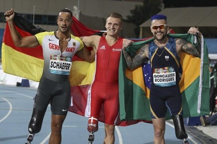 Vinícius Rodrigues medalhista de bronze no Mundial Paralímpico de Dubai em 2019
