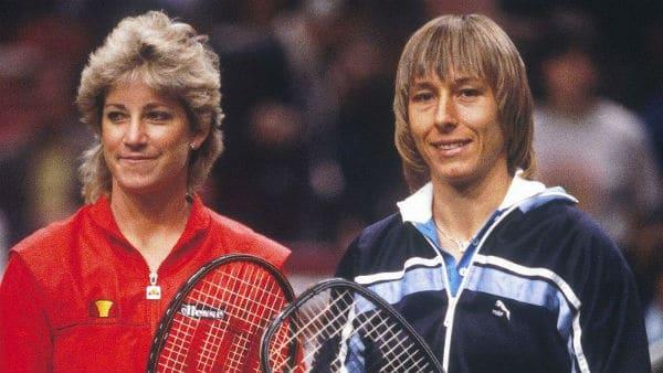 Martina Nvratilova e Chris Evert maior rivalidade do tênis