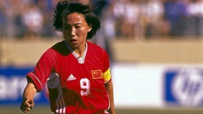 Sun Wen melhores jogadoras de futebol feminino de todos os tempos