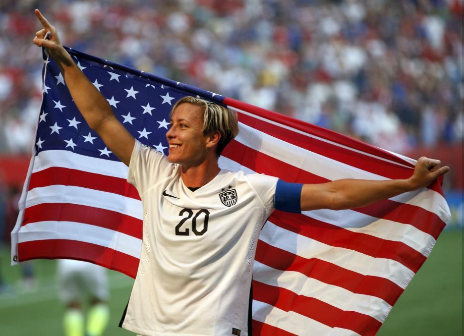 Abby Wambach melhores jogadoras de futebol da história