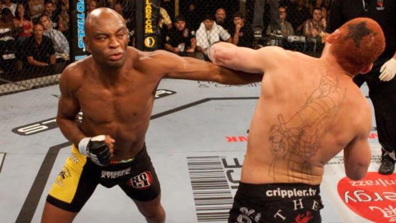 Carreira de Anderson Silva no UFC