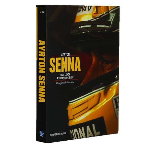 Livro Ayrton Senna